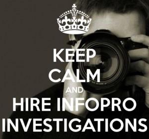 Keep Calm InfoPro Investigations