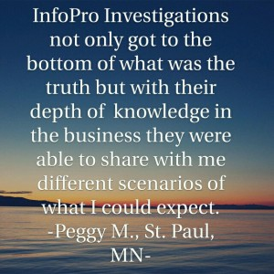 Private Investigator Cliet Review Minneapolis Minnesota