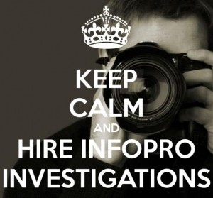 Keep Calm InfoPro Investigations